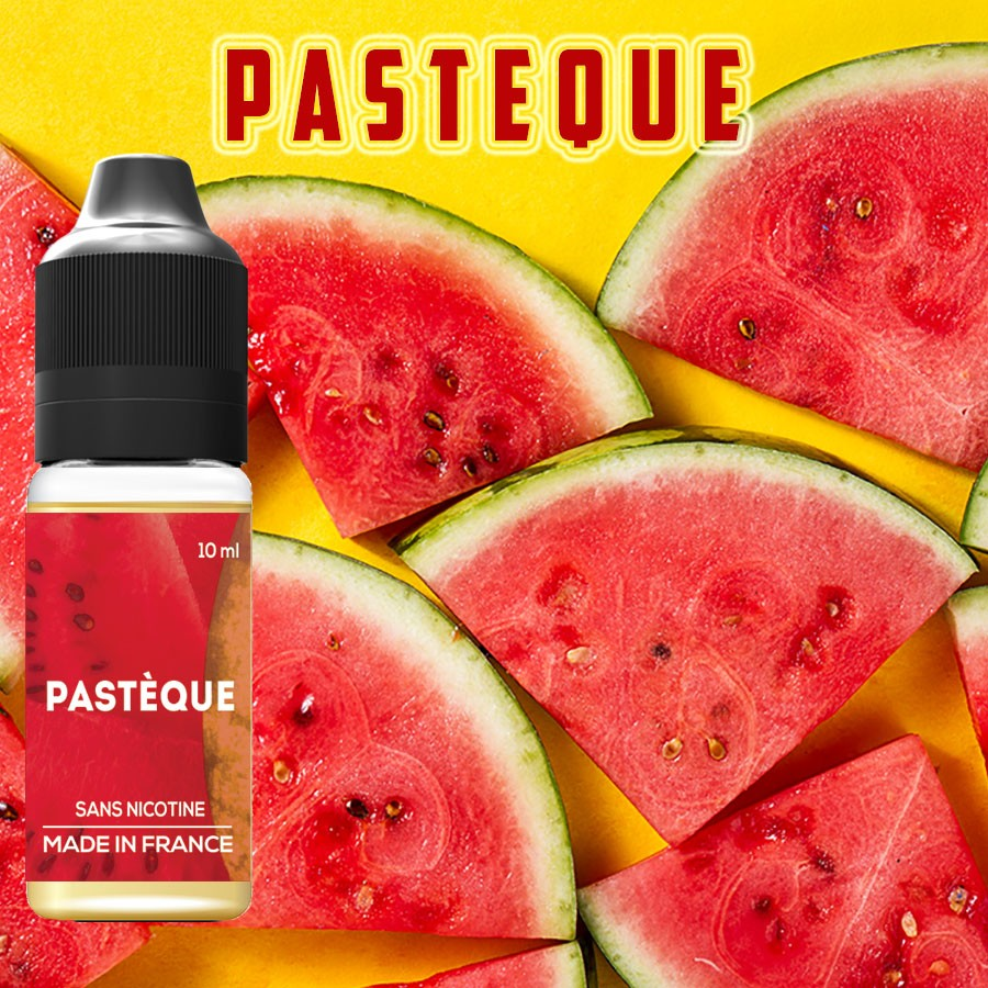 Goût PASTEQUE - La boutique VDP - E-liquide naturels