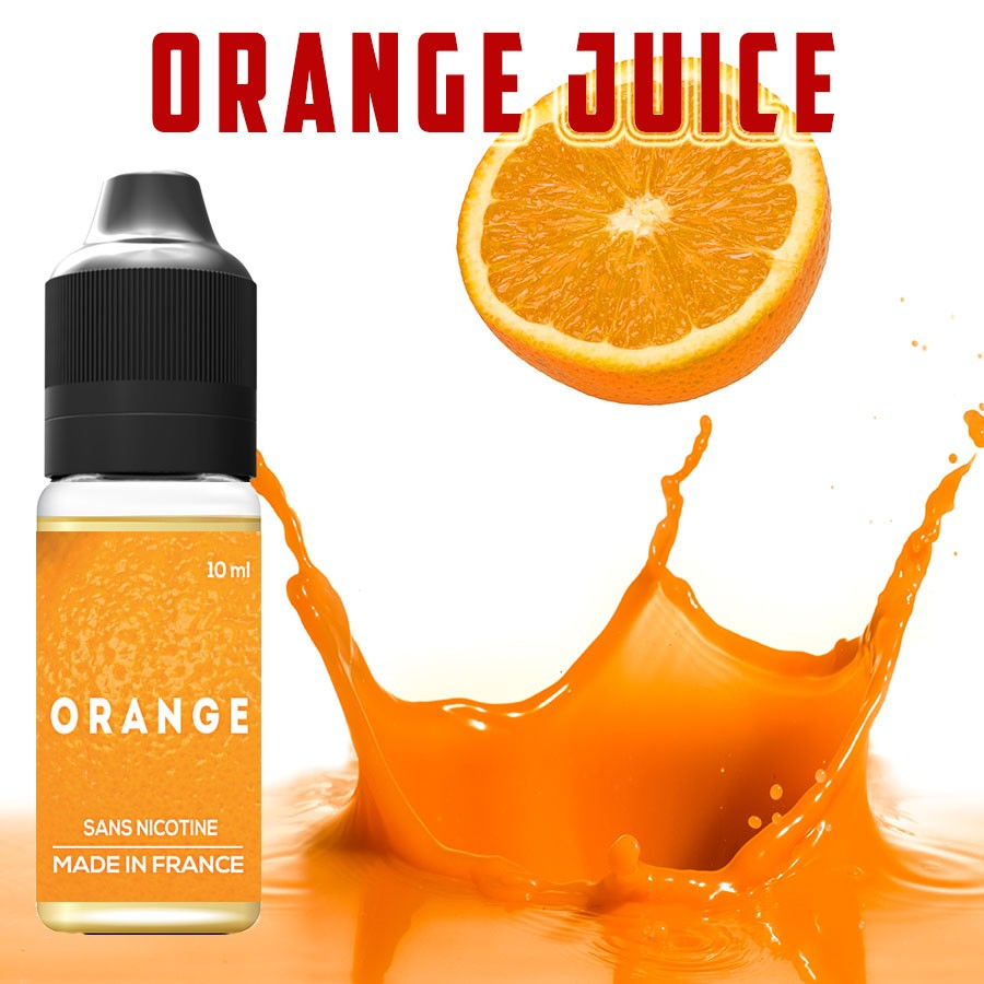 E-liquide naturels - Goût ORANGE JUICE - VDP