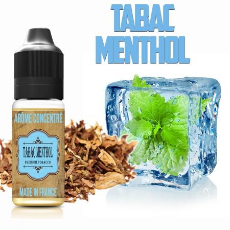 E-liquide naturels - Goût arôme Tabac menthol - VDP