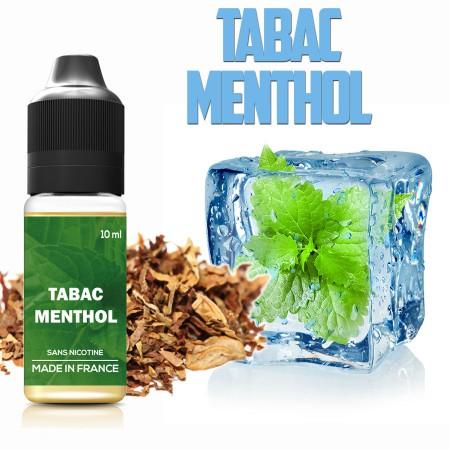 E-liquide naturels - Goût Tabac menthol - VDP