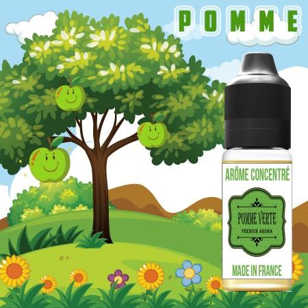 E-liquide naturels - Goût arôme Pomme verte - VDP
