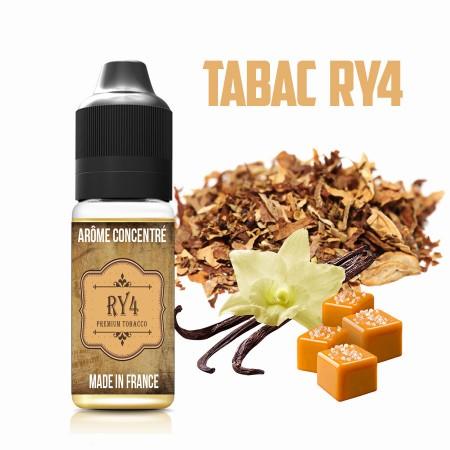 E-liquide naturels - Goût arôme Tabac RY4 - VDP