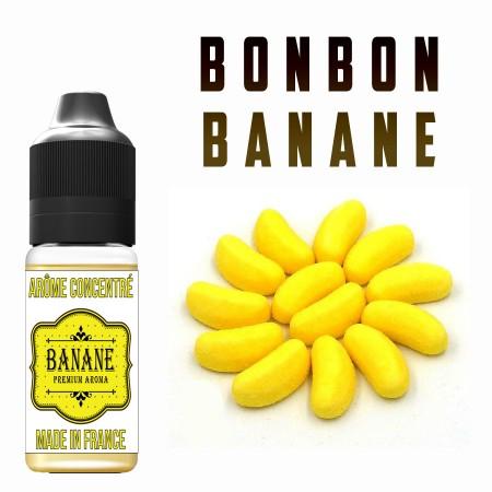 E-liquide naturels - Goût arôme Bonbon banane - VDP