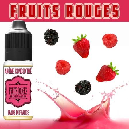 E-liquide naturels - Goût arôme fruits rouges - VDP