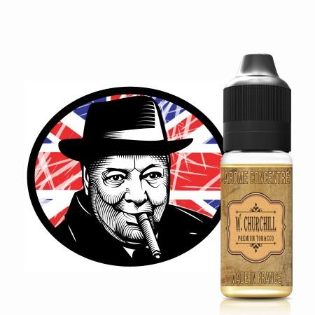 E-liquide naturels - Goût arôme Tabac W. CHURCHILL - VDP