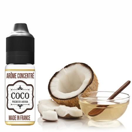 Goût arôme coco de Tahiti - E-liquides naturels - laboutiquevdp