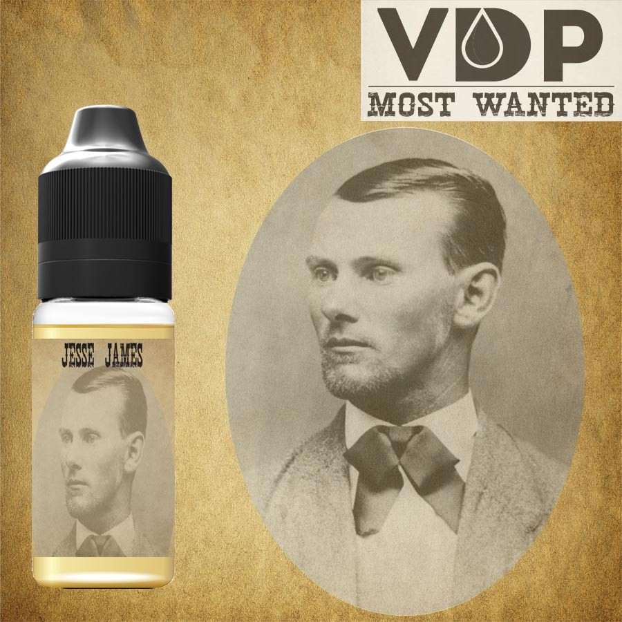 E-liquide naturels - tabac JESSE JAMES most wanted - 100% naturel - VDP