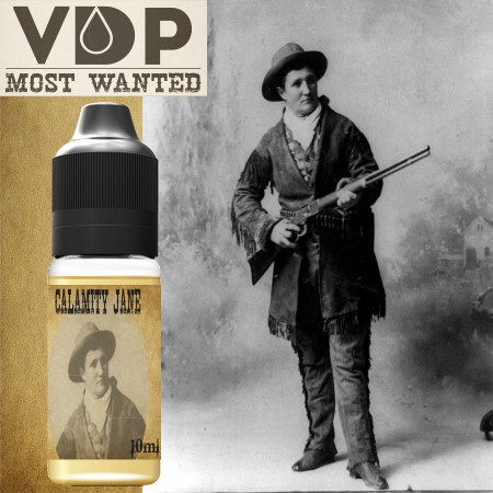 E-liquide naturels -  Calamity Jane MOST WANTED - 100% naturel - VDP