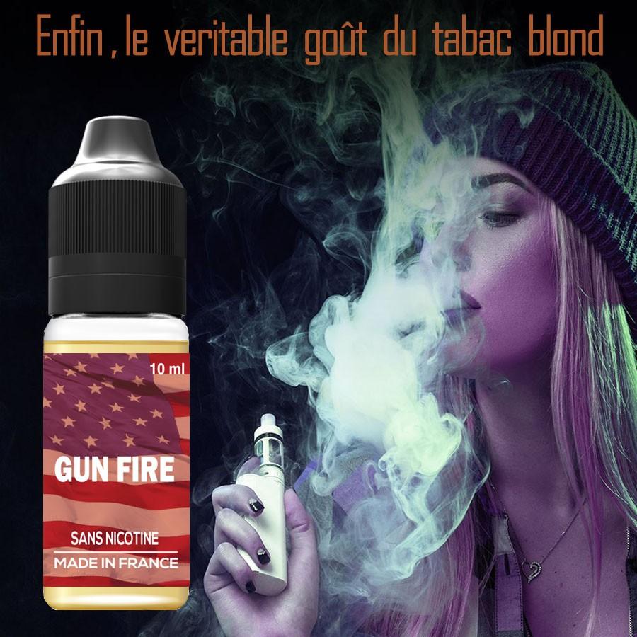 E-liquide naturels - Tabac GUN FIRE - VDP
