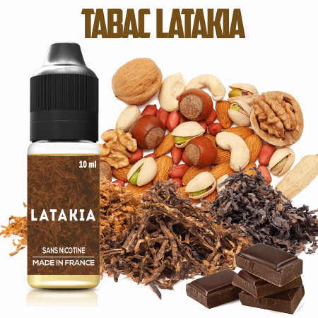 E-liquide naturel - Tabac LATAKIA - VDP