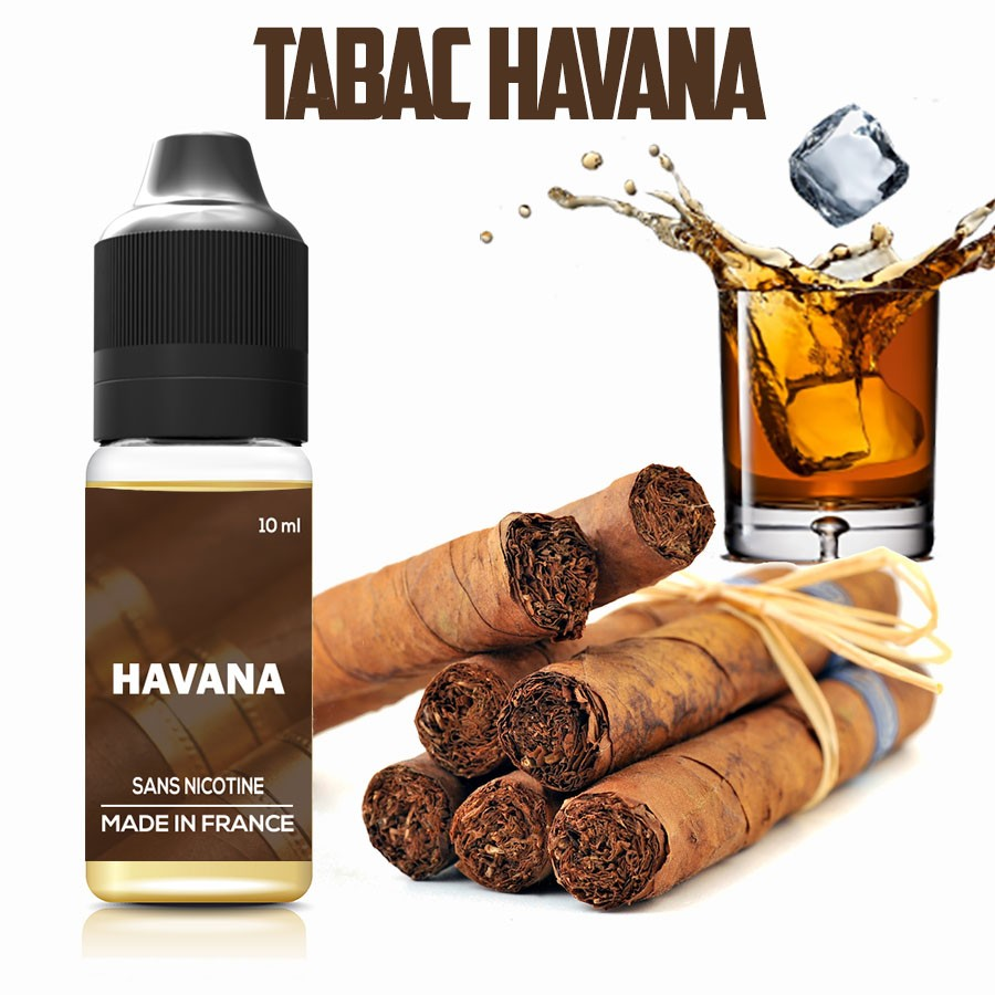 E-liquide - Tabac HAVANA - laboutiquevdp