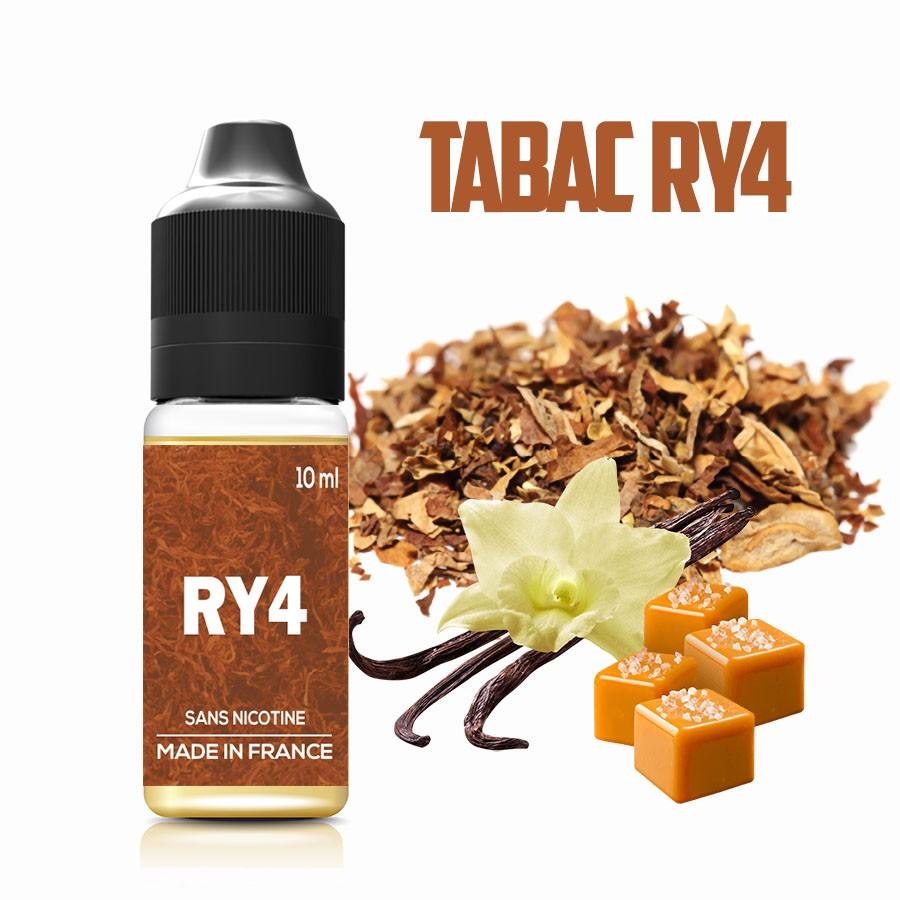 E-liquide - Tabac RY4 - laboutiquevdp