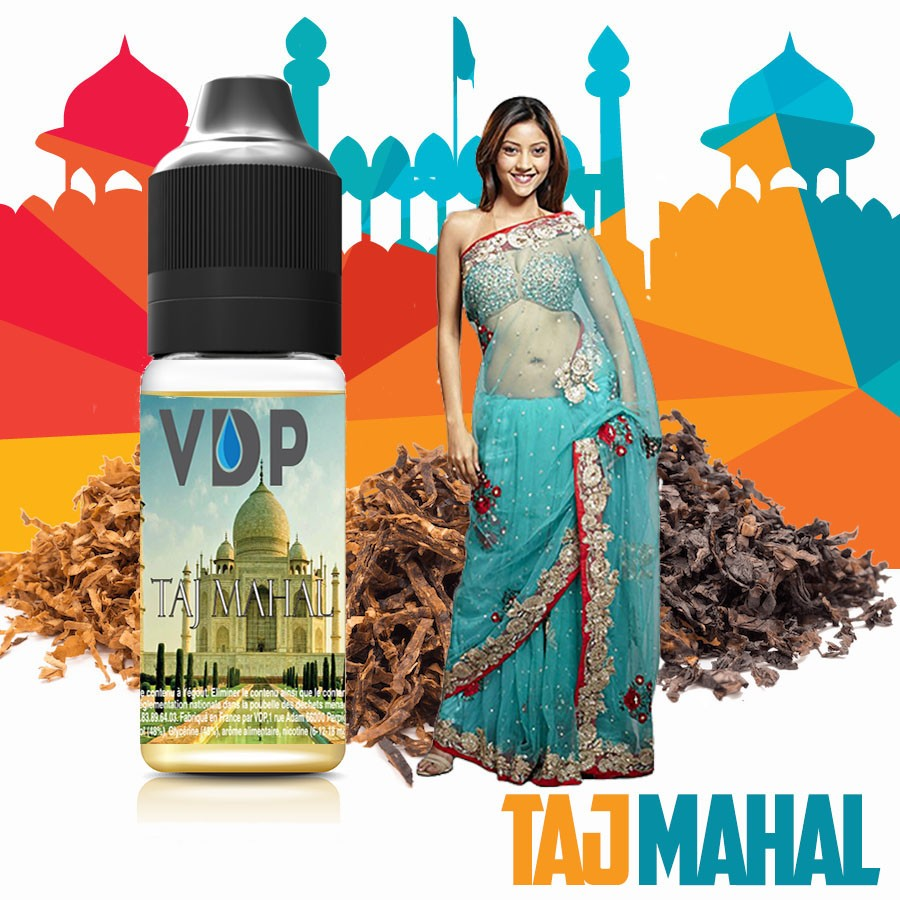 Liquide naturel - Tabac TAJ MAHAL - laboutiquevdp