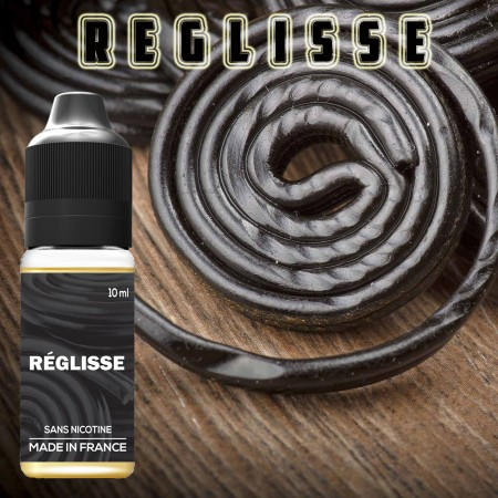 Goût réglisse - E-liquide naturels - laboutiquevdp