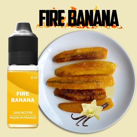E-liquide naturel - Goût Fire banana - VDP