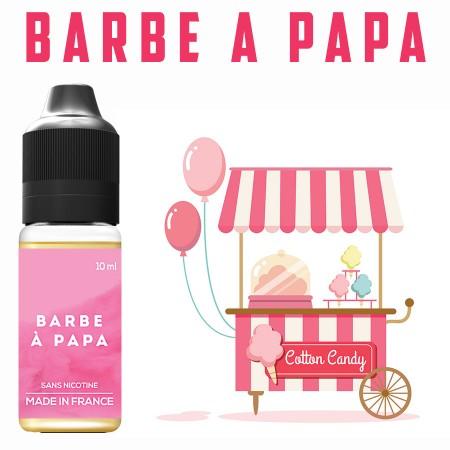 Goût Barbe à papa - E-liquide naturels - laboutiquevdp