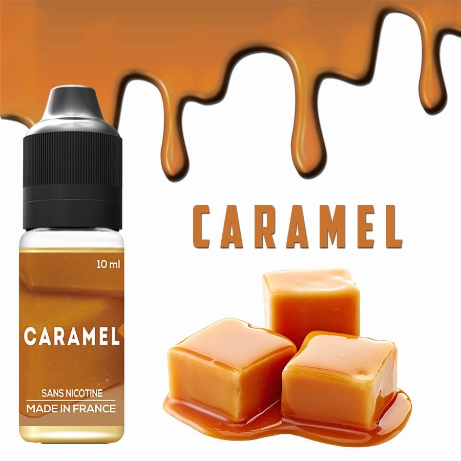 Goût Caramel - E-liquide naturels - VDP
